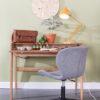 Barbier desk interior 100x100 - Письменный стол ZUIVER Barbier