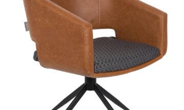 Beau brown 0 360x216 - Стул ZUIVER Beau, коричневый