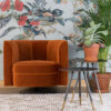 Flower orange 11 100x100 - DUTCHBONE Flower tugitool - 3 värvi
