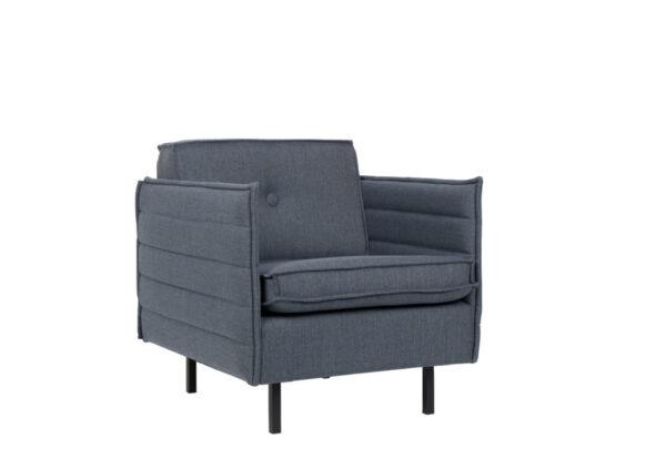 Jaey 1 grey blue 1 600x414 - Кресло ZUIVER Jaey – 4 цвета
