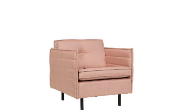 Jaey 1 salmon 1 360x216 - Кресло ZUIVER Jaey, розовое