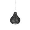 Cable drop black 0 100x100 - ZUIVER Cable Drop laelamp - 2 värvi