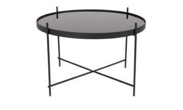 Cupid coffee black2 0 360x216 - Журнальный столик ZUIVER Cupid, чёрный L