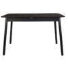 Glimps table black 0 100x100 - ZUIVER Glimps pikendatav söögilaud - erinevad värvid ja suurused