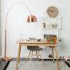 Glimps table interior1 100x100 - ZUIVER Glimps раздвижной обеденный стол – разные цвета и размеры