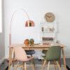 Glimps table interior2 100x100 - ZUIVER Glimps раздвижной обеденный стол – разные цвета и размеры