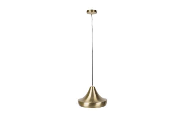 Gringo brass 0 Copy 600x414 - Подвесной светильник ZUIVER Gringo – 2 цвета