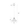 Gringo size Copy 100x100 - Подвесной светильник ZUIVER Gringo – 2 цвета