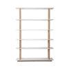 High on wood shelf 0 100x100 - ZUIVER High on Wood raamaturiiul