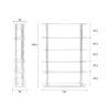 High on wood sizew 4100000 12 100x100 - ZUIVER High on Wood raamaturiiul