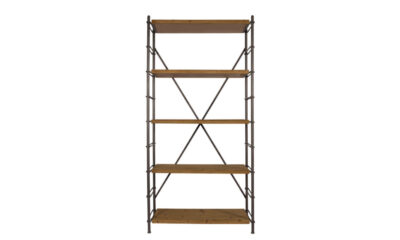 Iron shelf 0 400x240 - DUTCHBONE Iron raamaturiiul