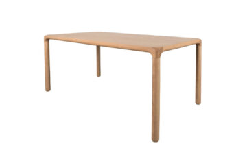 Storm 1 360x216 - Обеденный стол ZUIVER Storm 180x90 cm, натуральный