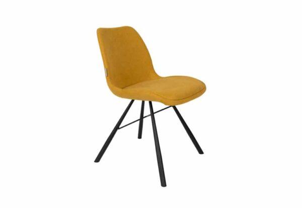 Brent mustard 0 600x414 - ZUIVER Brent tool - 3 värvi