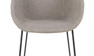 Feston grey 1 360x216 - Стул ZUIVER Feston, серая ткань