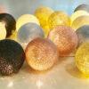 Blush 100x100 - IRISLIGHTS valguskett Blush, 20 palli