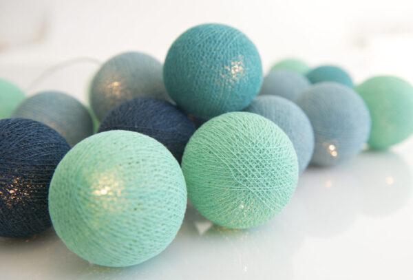 CoolMint00 600x407 - IRISLIGHTS valguskett Cool Mint, 20 palli