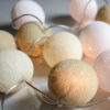 CreamyWhite02 100x100 - IRISLIGHTS valguskett Creamy White, 20 palli