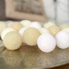 CreamyWhite03 100x100 - IRISLIGHTS valguskett Creamy White, 20 palli