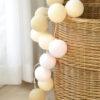 CreamyWhite04 100x100 - IRISLIGHTS valguskett Creamy White, 20 palli