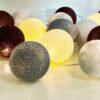 Deco 100x100 - IRISLIGHTS valguskett Deco, 20 palli