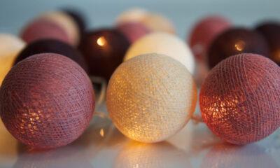DustyPink00 400x240 - IRISLIGHTS valguskett Dusty Pink, 20 palli