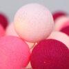 Flamingo01 100x100 - IRISLIGHTS valguskett Flamingo, 35 palli