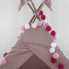Flamingo02 100x100 - IRISLIGHTS valguskett Flamingo, 35 palli