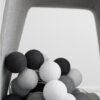 GraphicGrey04 100x100 - IRISLIGHTS valguskett Graphic Grey, 35 palli