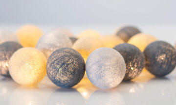 Greige00 360x216 - IRISLIGHTS светодиодная гирлянда Greige, 20 шариков