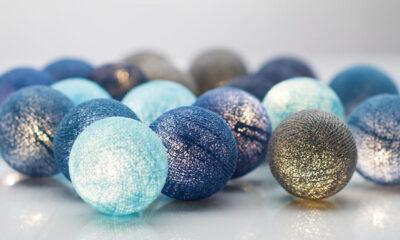 OceansBlue00 400x240 - IRISLIGHTS valguskett Ocean Blue, 20 palli