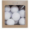 PureWhite10 100x100 - IRISLIGHTS valguskett Pure White, 35 palli