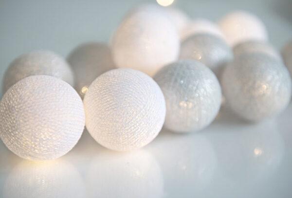 Silver00 600x407 - IRISLIGHTS светодиодная гирлянда Silver, 20 шариков
