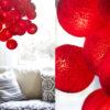 SimplyRed02 100x100 - IRISLIGHTS valguskett Simply Red, 20 palli
