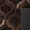 6000086 4 100x100 - Ковёр DUTCHBONE Bawang, dark brown