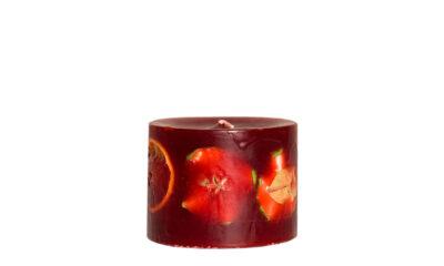 Bert Red 13932 400x240 - Käsitööküünal Bert punane