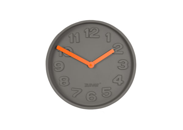 Concrete time 8500027 0 600x429 - ZUIVER Concrete kell - 3 värvi