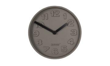 Concrete time 8500028 0 360x216 - Часы ZUIVER Concrete - серый + чёрный