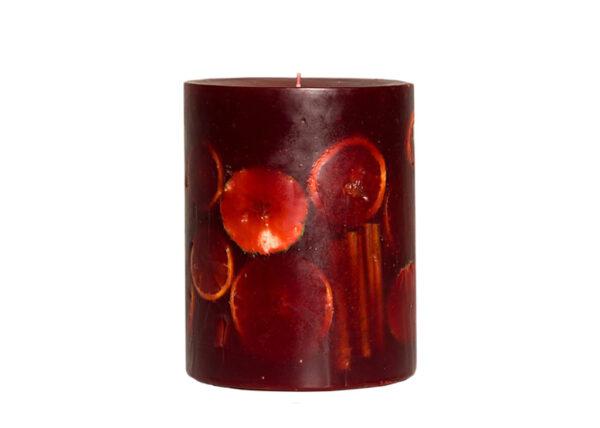 Junior Red 03935 600x428 - Käsitööküünal Junior punane