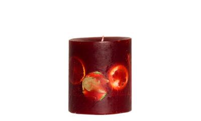 Ludo Red 03933 400x240 - Käsitööküünal Ludo punane