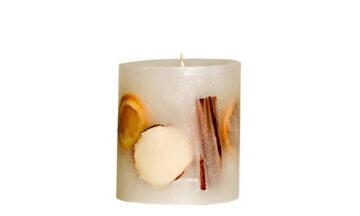 Ludo White 03873 360x216 - Свеча ручной работы Ludo, белая