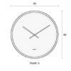 Time bandit 8500007 6 100x100 - ZUIVER Time Bandit kell - 4 värvi