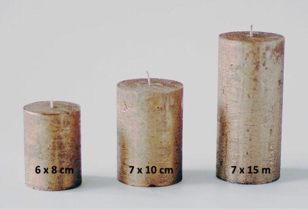 metalne pronks 1 600x407 - Küünal metalne pronks - 6x8 cm