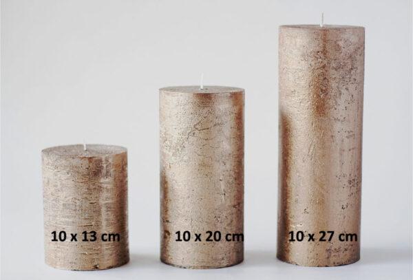 metalne pronks 2 600x407 - Küünal metalne pronks - 10x13 cm
