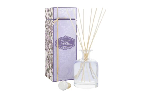 1 0704 CB Lavender 250mL diffuser A 600x407 - Difuuser Castelbel - Lavendel 250ml