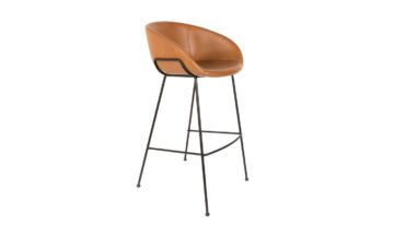 1500050 0 1 360x216 - Высокий барный стул ZUIVER Feston, коричневая искусственная кожа