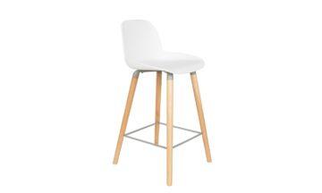 1500051 0 360x216 - Низкий барный стул ZUIVER Albert Kuip, белый