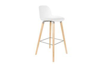 1500057 0 360x216 - Высокий барный стул ZUIVER Albert Kuip, белый