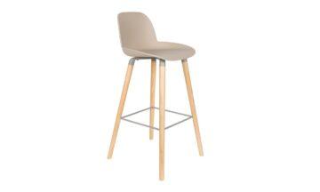 1500061 0 360x216 - Высокий барный стул ZUIVER Albert Kuip, бежевый
