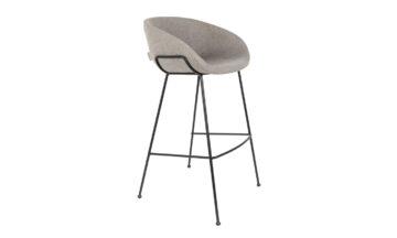 1500064 00 360x216 - Высокий барный стул ZUIVER Feston, серая ткань