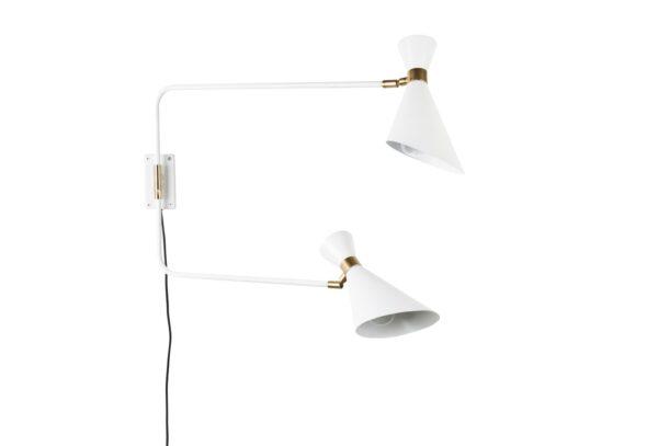5400019 0 600x407 - Настенный светильник ZUIVER Shady, двойной – 2 цвета